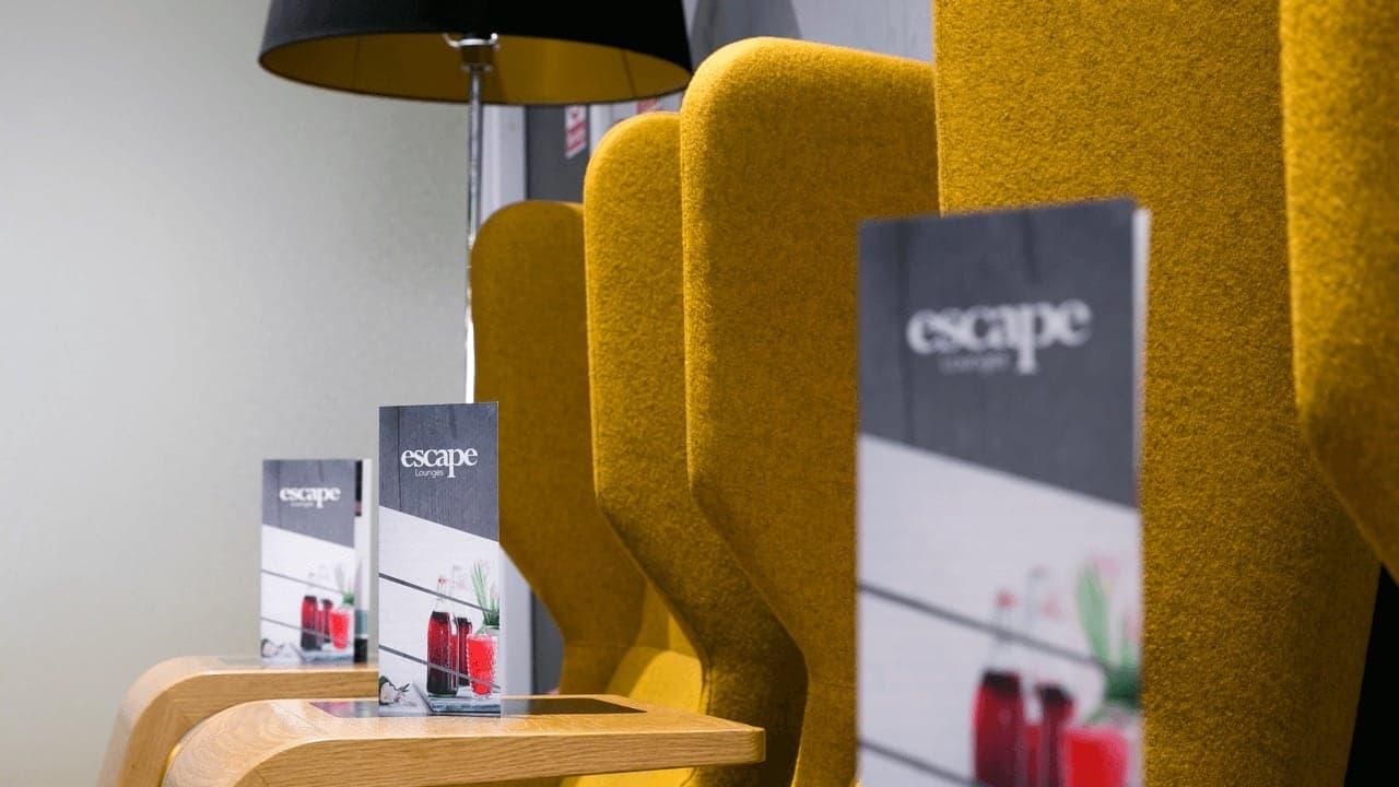 East Midlands Airport Escape Lounge Slide 2