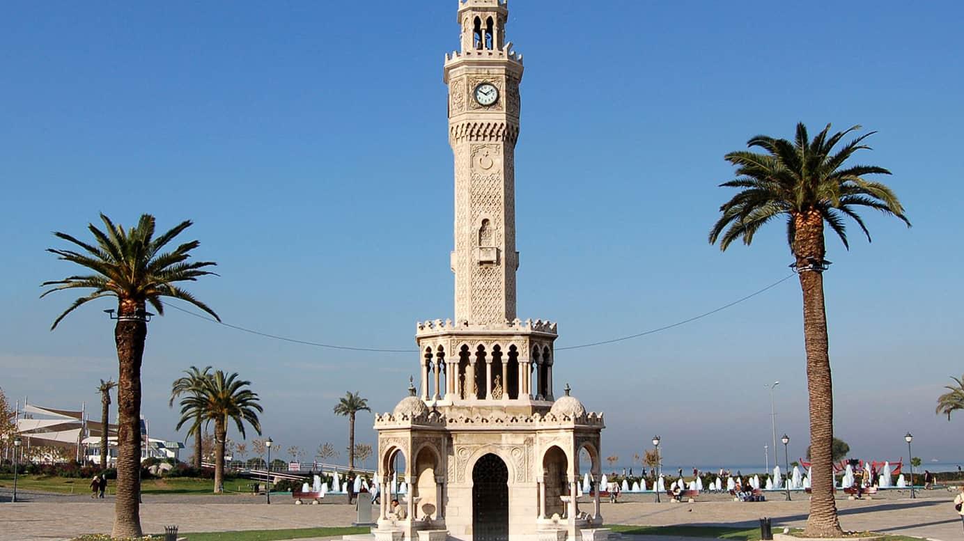 The Clock Tower in Izmir