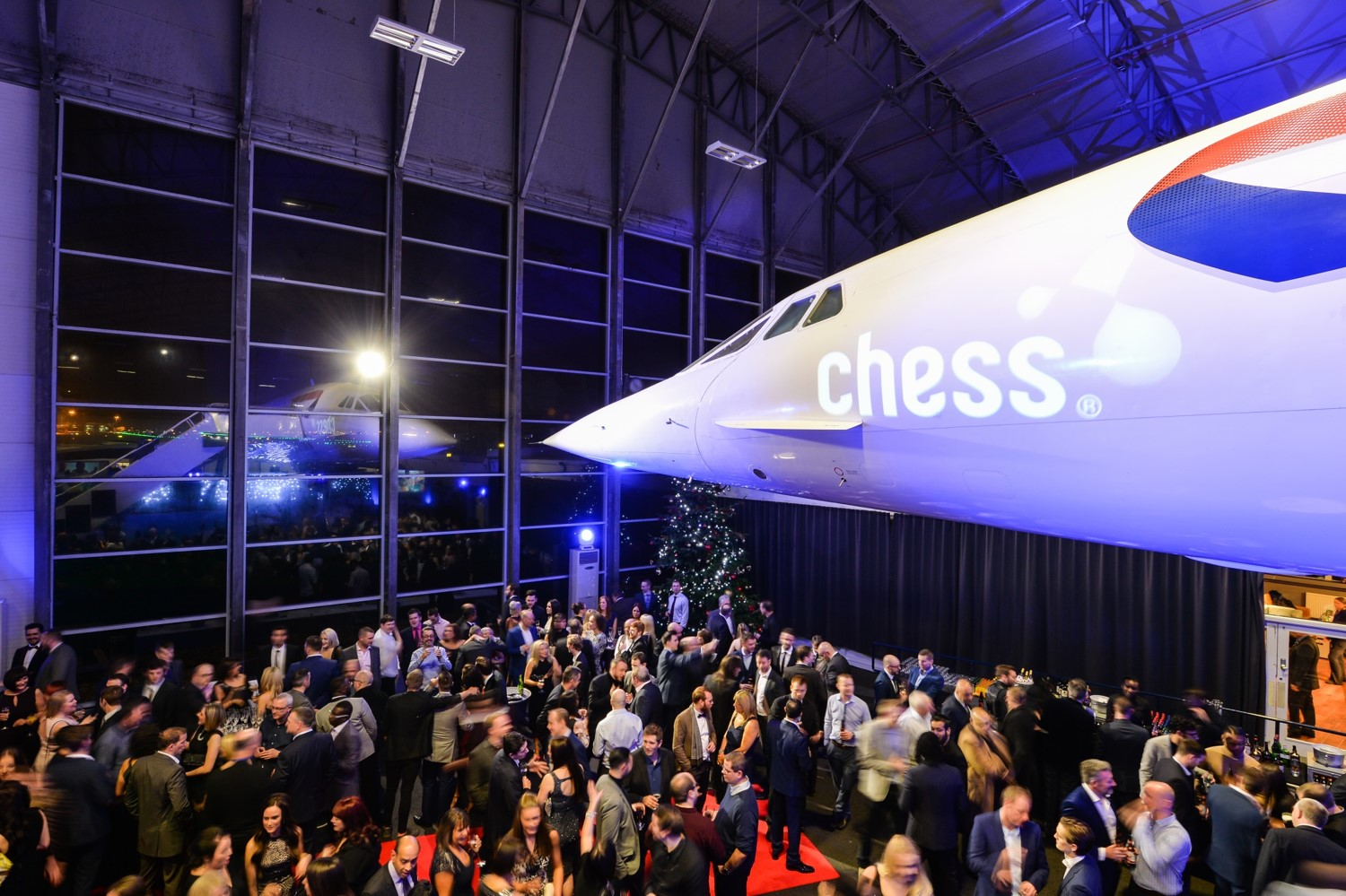 The Hangar at the Concorde Conference Centre