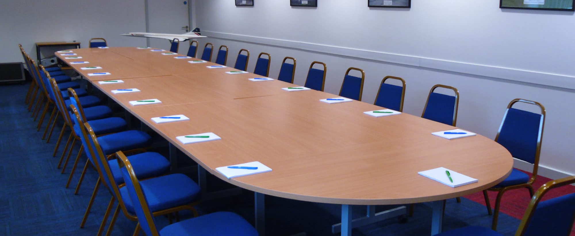 Meeting Spaces at the Concorde Conference Centre