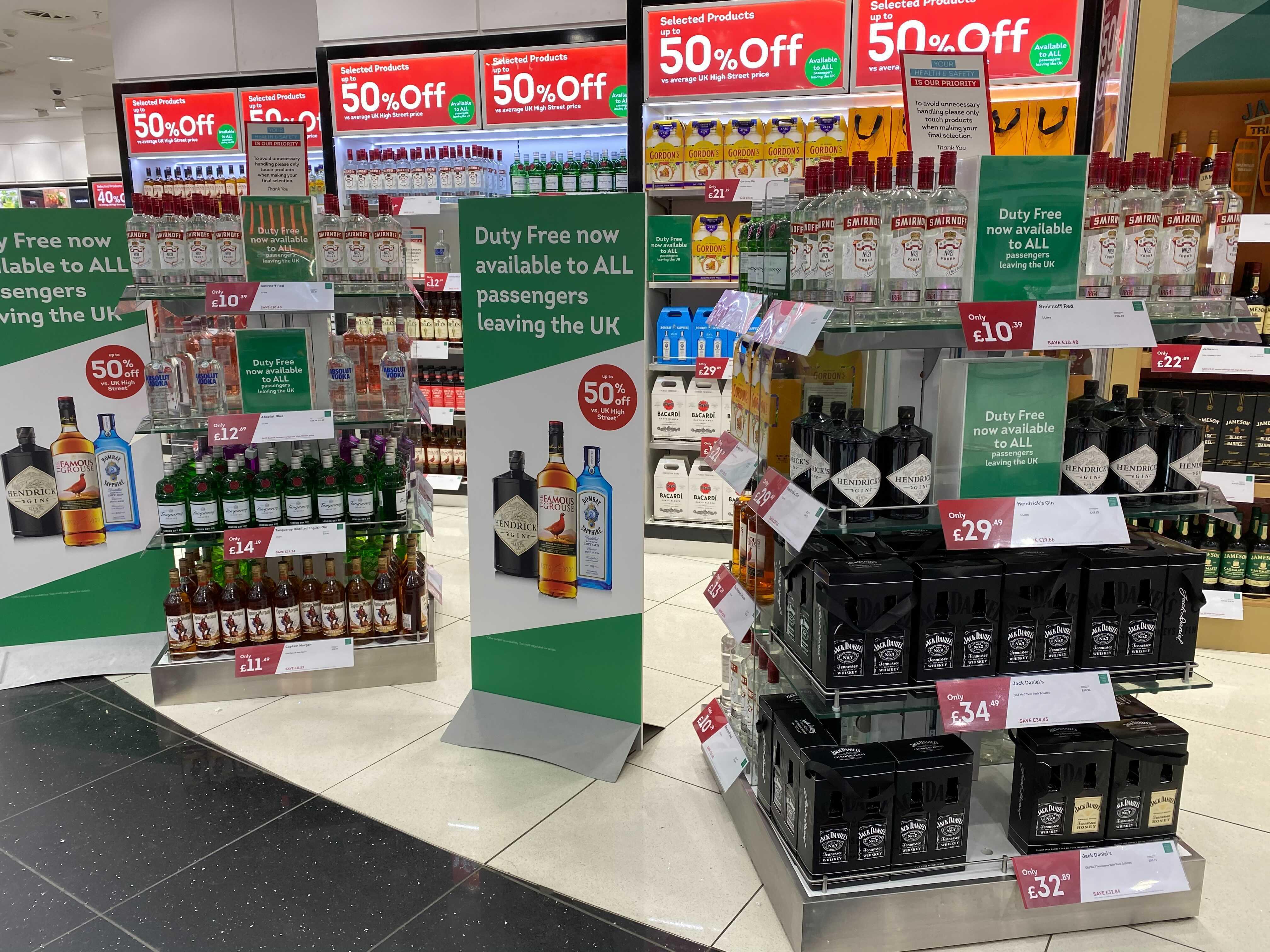 WDF liquor offer