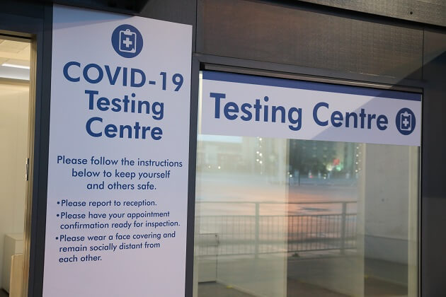 Stansted Airport COVID 19 Testing Centre