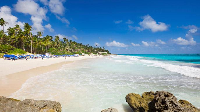 Beach in Bridgetown