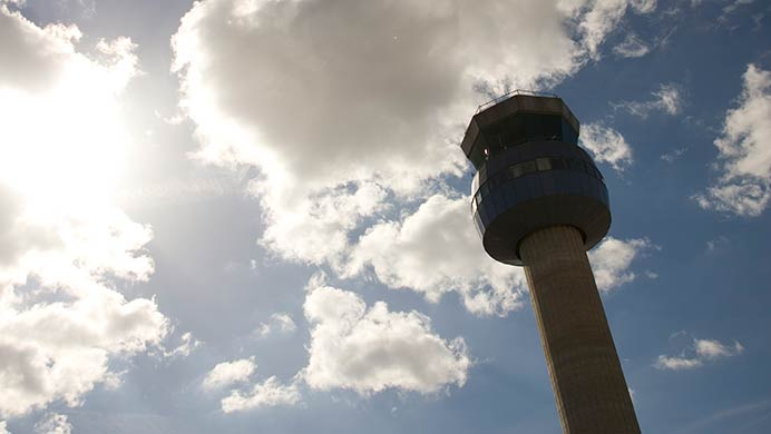 East Midlands Airport Tower