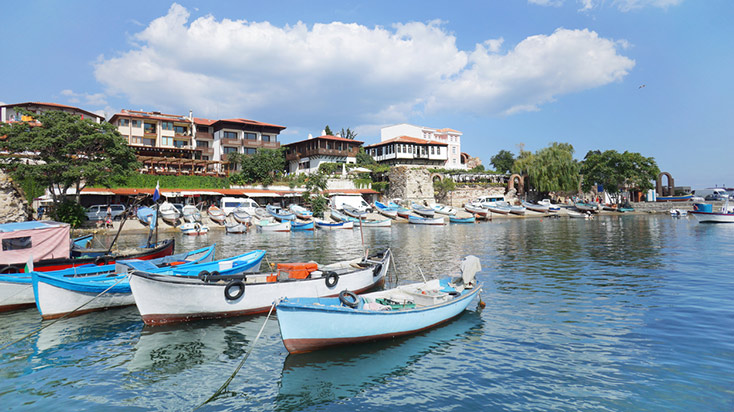 Port in Bourgas