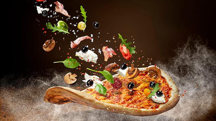 Pizzaluxe pizza