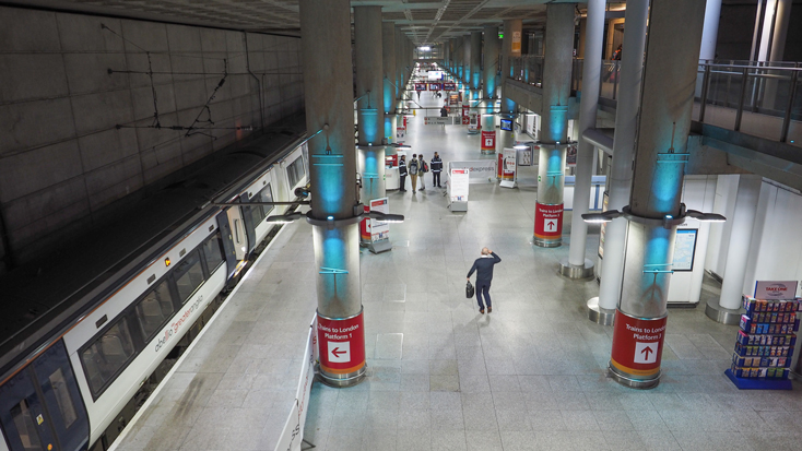 Stansted Airport train station