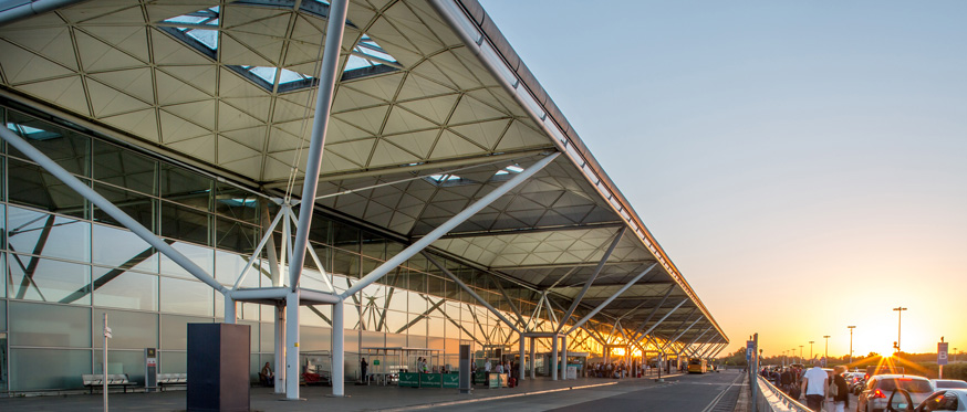 Stansted terminal building
