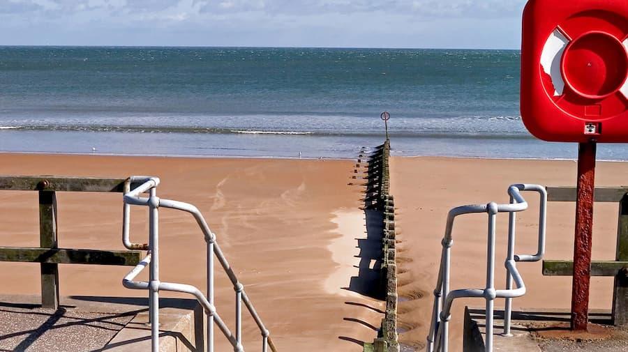 Beach in Aberdeen