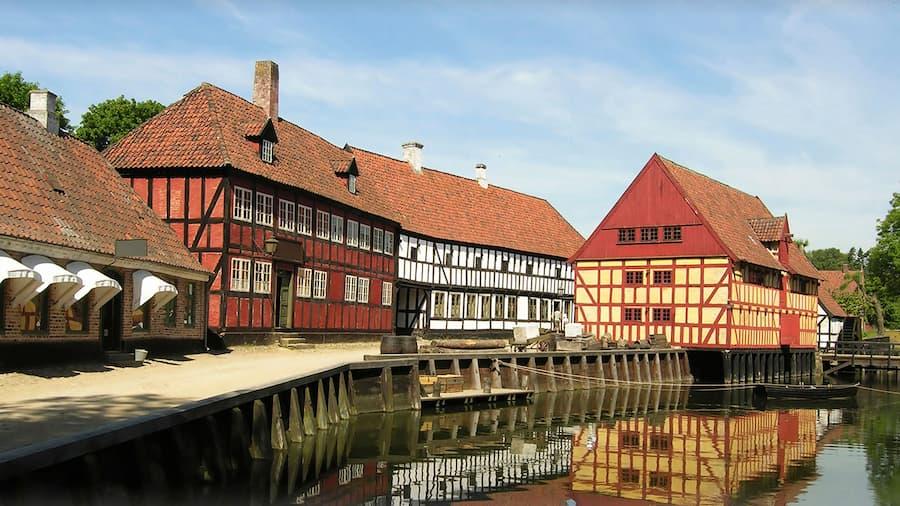 Canal in Aarhus