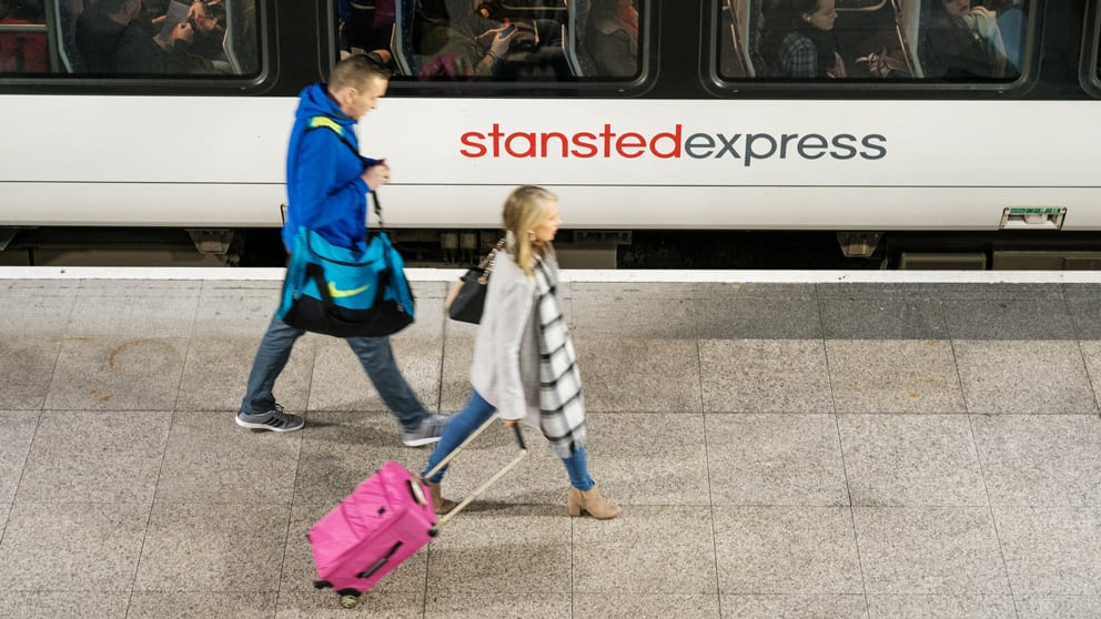 Train to Stansted Airport