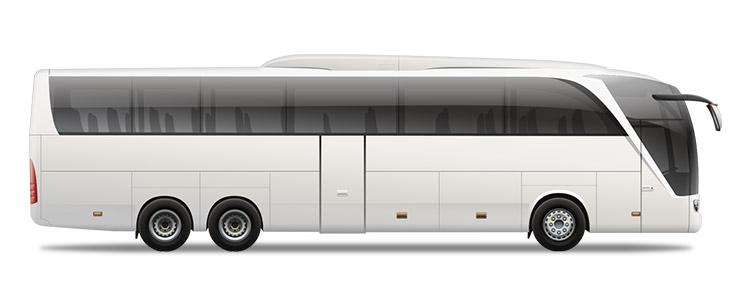 Shuttle transfer bus