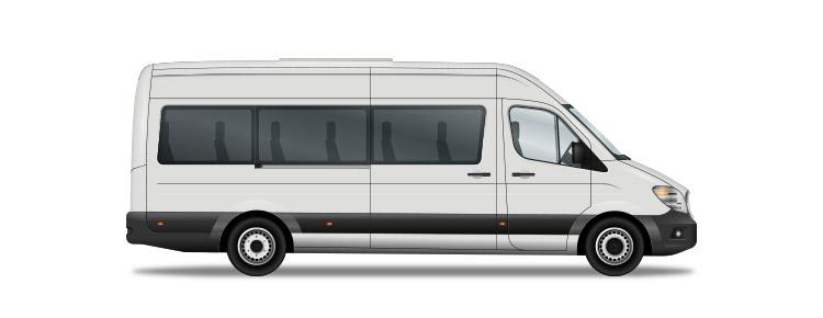 Private minibus transfer